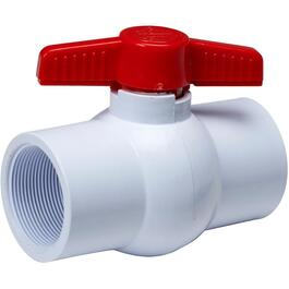 "2"" Threaded PVC Ball Valve thumb"