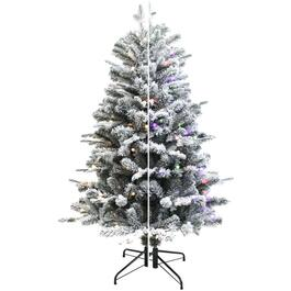 5' Balsam Fir Christmas Tree, with 150 Colour Changing LED Lights thumb