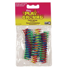 10 Pack Playground Springs Cat Toys thumb