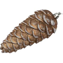 "5"" Plastic Pinecone Ornament, Assorted Colours thumb"