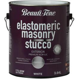 3.64L White Semi-Elastomeric Latex Paint thumb