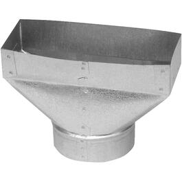 "3-1/4"" x 10"" x 5"" Universal Boot Duct thumb"