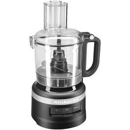 300 Watt 7 Cup Black Food Processor thumb