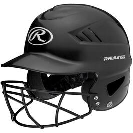 Youth Batter Helmet, with Mask thumb