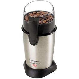 Stainless Steel/Black Blade Coffee Grinder thumb