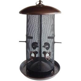 4 Quart Capacity High Capacity Mixed Seed Bird Feeder thumb