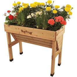"41"" x 18"" Small Wall Hugger Raised Garden Planter thumb"
