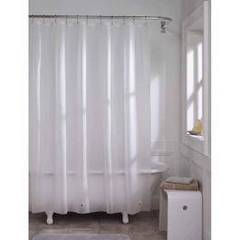 "70"" x 72"" Frosty Peva Shower Curtain/Liner thumb"