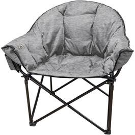 Heather Grey Adult Lazy Bear Camp Chair thumb