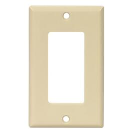 Ivory 1 Device Switch Plate thumb