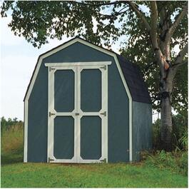 8' x 8' Raven Double Door Storage Shed thumb