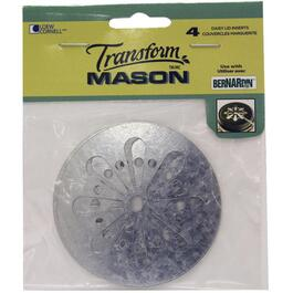 4 Pack Regular Daisy Mason Jar Lids thumb