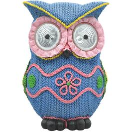 "9"" Homespun Owl Lawn Ornament thumb"