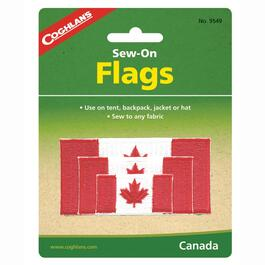 3 Pack Sew-On Canada Flags thumb