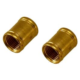 "1/8"" IPS Brass Candelabra Coupling thumb"