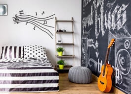 Here's How to add artistic flare using chalkboard paint. thumb