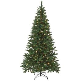 7.5' Real Look Forestville Christmas Tree, with 300 Colour Changing LED Lights thumb