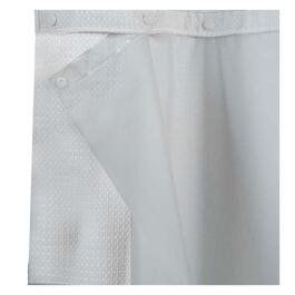 "70"" x 54"" 3/4 Frost Snap On Liner, for Hookless Shower Curtain/Liner thumb"
