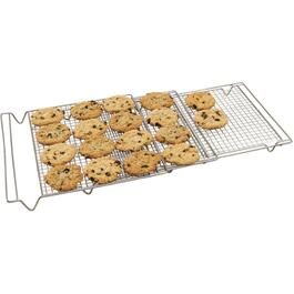 "14"" x 34-1/2"" Expandable 3 Section Cooling Cake Rack thumb"