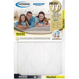 "1"" x 16"" x 24"" Electrostatic Supreme Pleated Furnace Filter thumb"