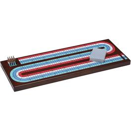 Jumbo Wood Cribbage Board thumb