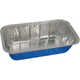 "3 Pack 8.5"" x 4.6"" x 2.5"" Foil Loaf Pans thumb"