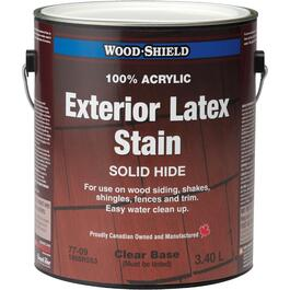 3.40L Solid Clear Base Latex Wood Stain thumb