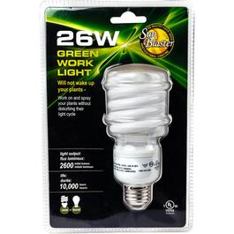 26W Spiral Medium Base 6400k Compact Fluorescent Plant Light Bulb thumb
