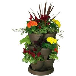 "18"" Bronze Stack-A-Pot Planter thumb"