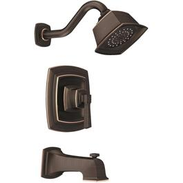 Boardwalk Mediterranean Bronze Single Handle Pressure Balanced Tub and Shower Faucet thumb
