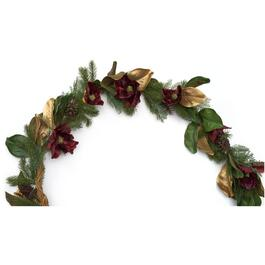 6' Decorated Magnolia Pine Garland thumb