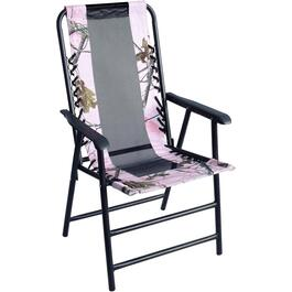 Realtree Pink Folding Bungee Chair thumb