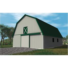 28' x 40' x 8' Hobby Barn Farm Building Package thumb