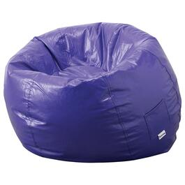 Purple Vinyl Beanbag Chair thumb