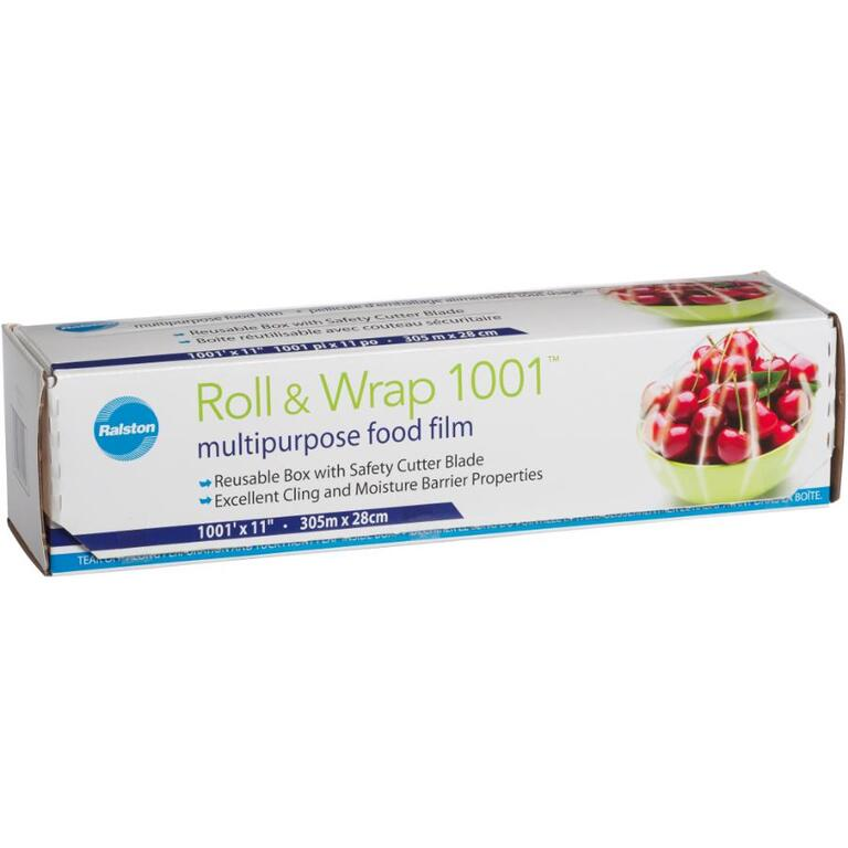 RALSTON 1001' Plastic Wrap, with Cutter