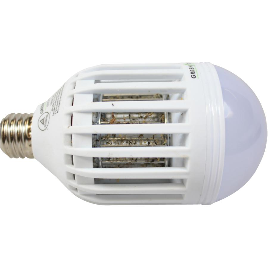 GREEN STRIKE Mosquito Zapper LED Light Bulb Mosquito Zapper LED Light Bulb - 웹
