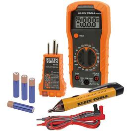 3 Piece Electrical Tester Kit thumb