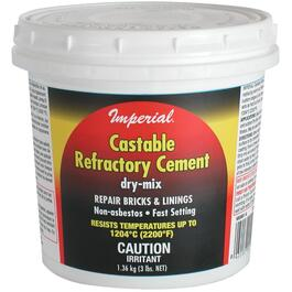 3lb Castable Fireplace Cement thumb