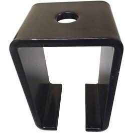 "18"" x 31"" Black Top Mount Track Bracket, for Box Tracking thumb"