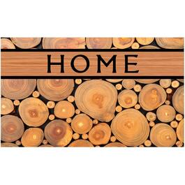 "18"" x 30"" Log Recycled Rubber Door Mat thumb"