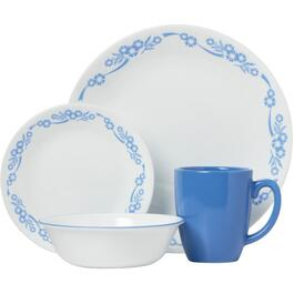 16 Piece Cornflower Dinnerware Set thumb