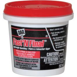 237mL Fast'n Final Off White Lightweight Spackling Wall Compound thumb