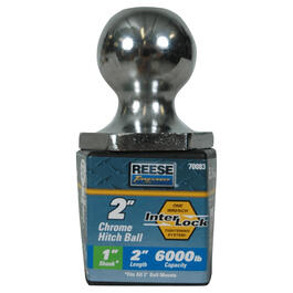6000lb Capacity Hitch Ball thumb