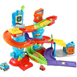 French Version Go Go Smart Wheels Police Tower Playset thumb