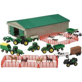 70 Piece John Deere Farm Playset thumb