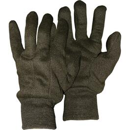 Men's One Size Jersey Knit Work Gloves, Assorted Colours thumb