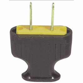 2 Wire 15 Amp 125V 2 Wire Plastic Electrical Plug thumb