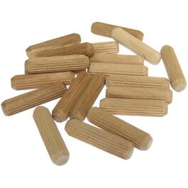 "20 Pack 5/16"" x 1-1/4"" Wooden Dowels thumb"