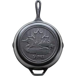 "10.25"" Canadiana Loon Cast Iron Frying Pan thumb"