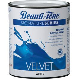 911mL White Base Velvet Finish Interior Latex Paint thumb